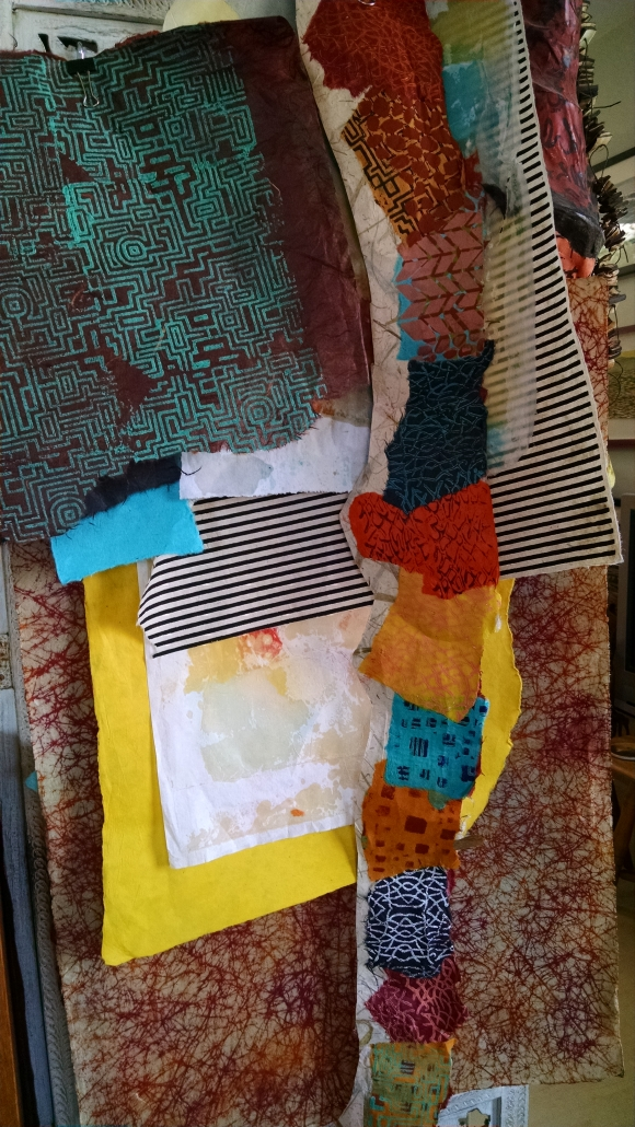 Handmade Paper, Laughing Baskets Studio