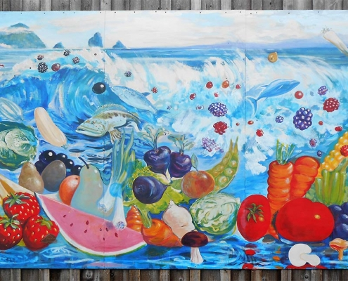 Port Orford Co-op Mural